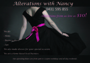 Alterations with Nancy